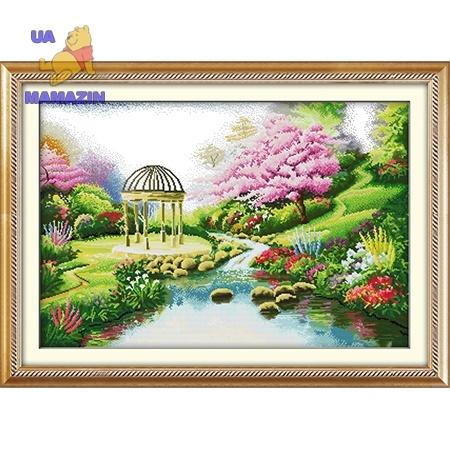 "Вышивка ""Романтичный сад"""