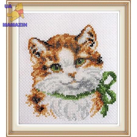 ИДЕЙКА вышивка Модная кошка