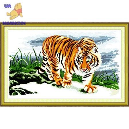 ИДЕЙКА вышивка Гордый тигр
