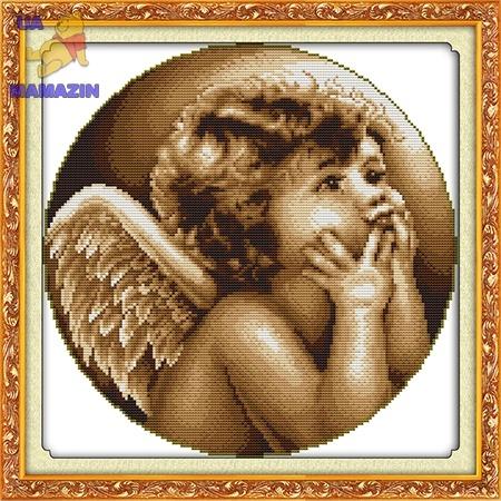 ИДЕЙКА вышивка Ангелочек