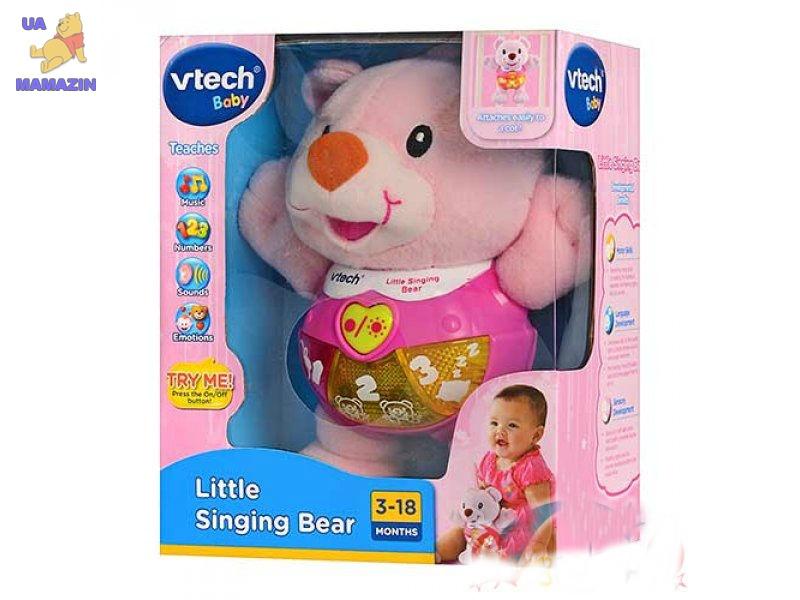 Мишка музыкальный розовый VTech