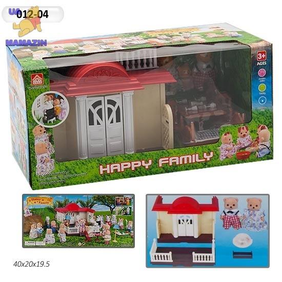 Домик с животными флоксовыми Happy Family