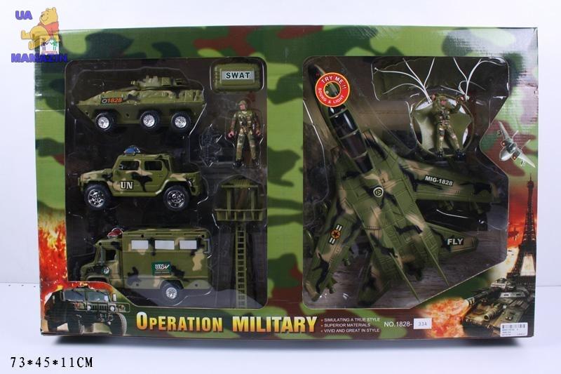Военный набор с солдатами