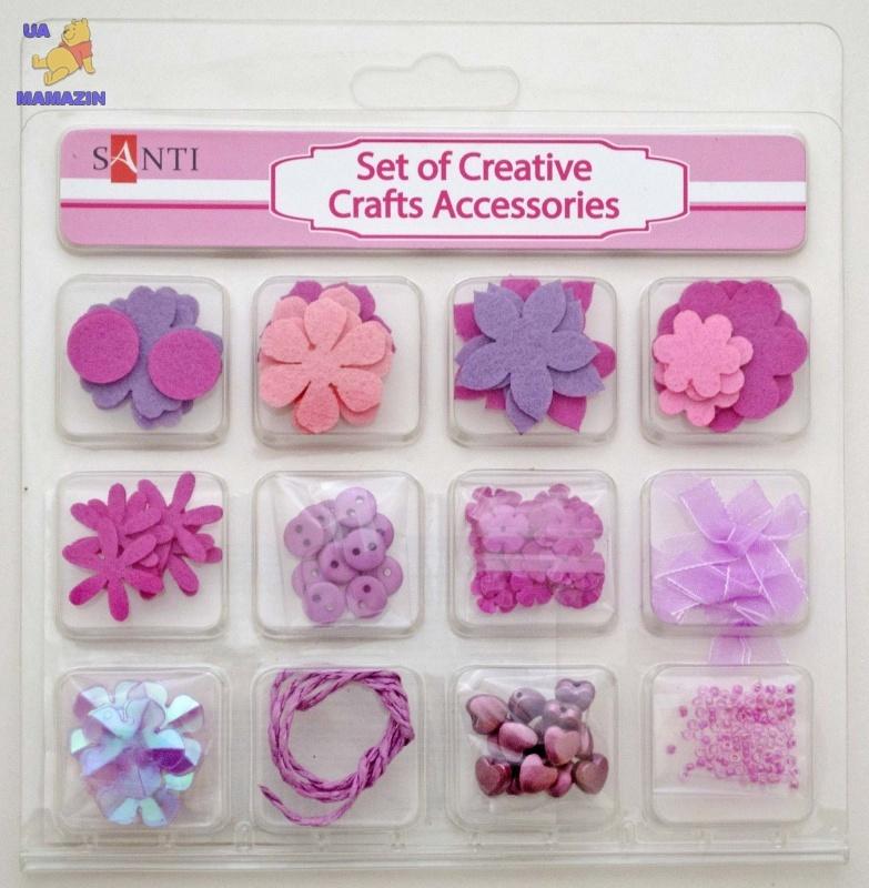 Набор декоративных украшений для скрапбукинга, розовый