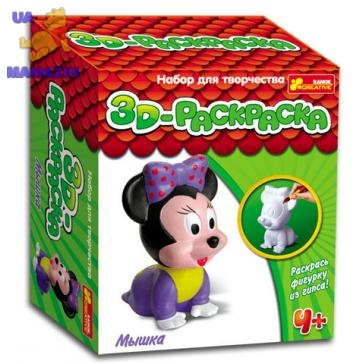 "3D-Раскраска ""Мышка"""