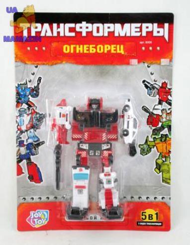 "Трансформер - робот ""Огнеборец"""