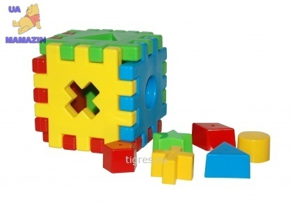 """Игрушка развивающая """"Волшебный куб"""" Тигрес"""