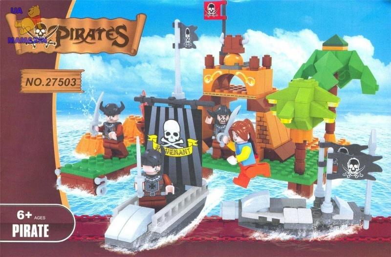 Конструктор Brick Пиратский остров