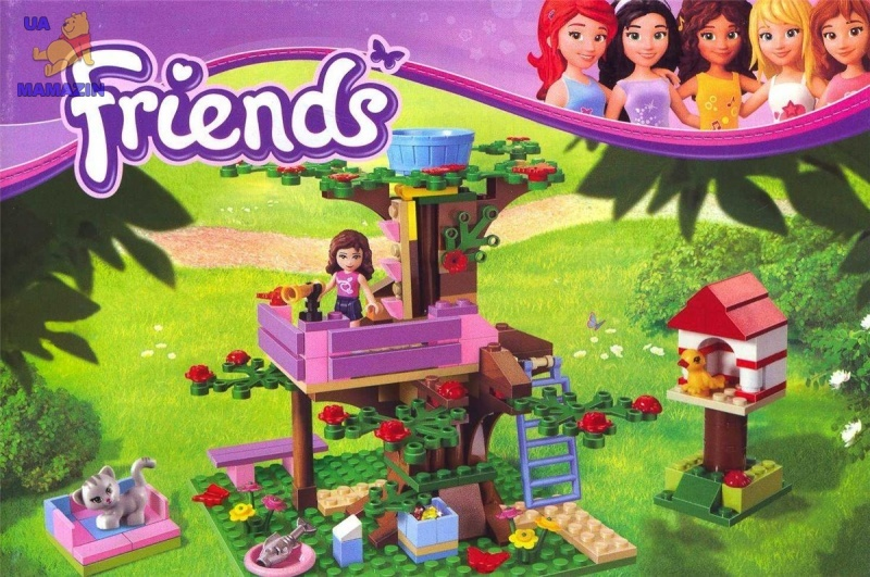 Конструктор Brick Friends Домик на дереве