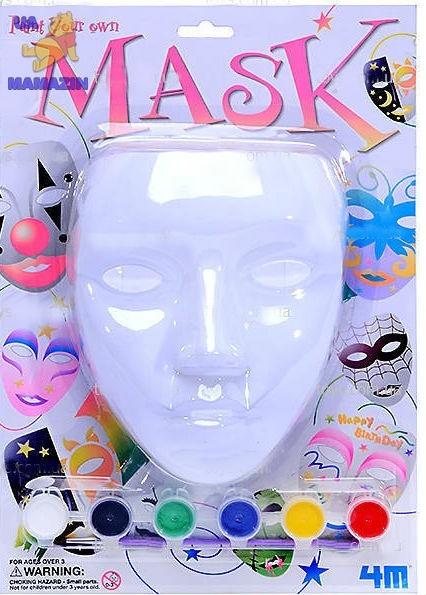 Роспись. Раскрась маску
