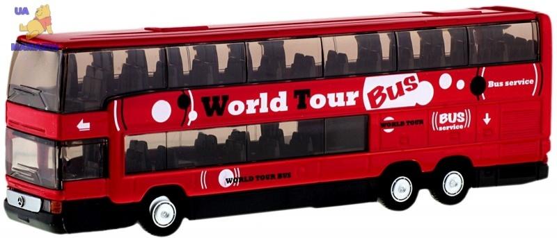 Коллекционная машина Автобус металлический