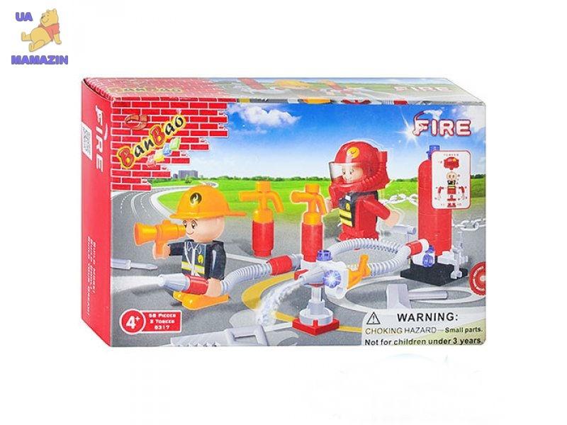 Конструктор BANBAO пожарная служба