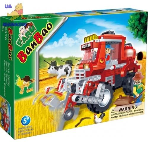 Конструктор BANBAO  ферма, трактор