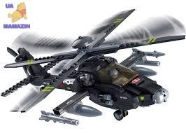 Конструктор военный вертолет