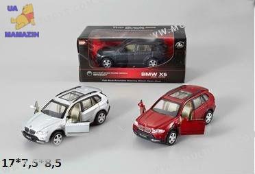 Коллекционная машинка джип BMW X5