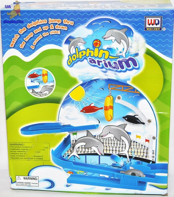Трек дельфины в аквариуме
