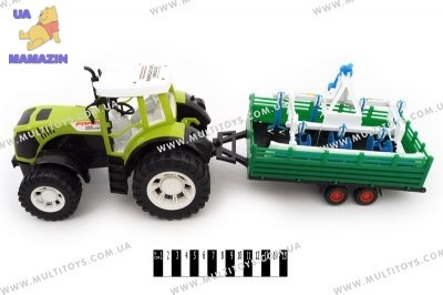 Трактор Фермер инерционный