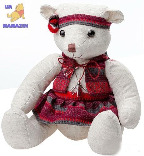 Мишка Василинка маленький, 30 см ТМ Левеня