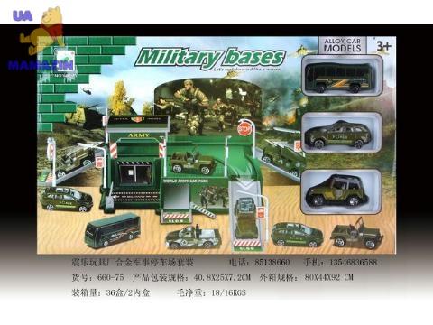 Паркинг для военной техники