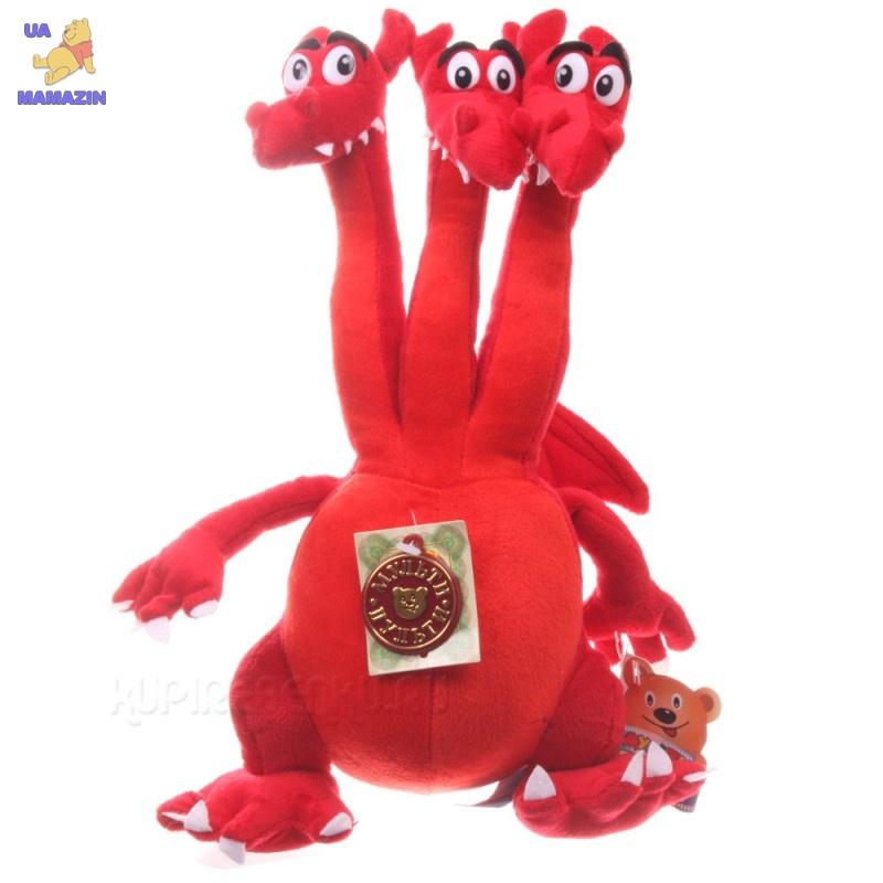 Мягкая игрушка Змей Горыныч, музыкальный