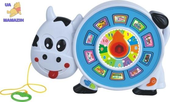Развивающая игрушка Весёлая коровка