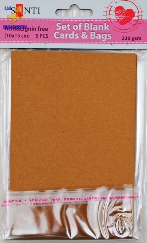 Набор крафт-заготовок для открыток