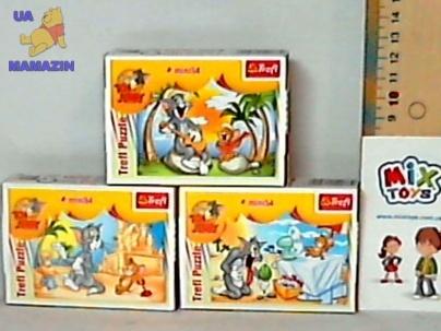 Пазлы Trefl, Tom Jerrys Holiday