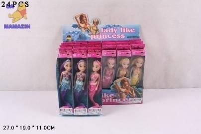 Кукла 10 см русалка