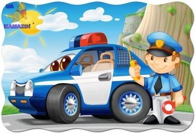 "Пазлы ""Полицейский"" махі 20"
