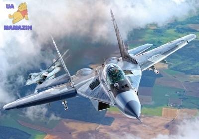 """Пазлы 500 элементов """"Военный самолет"""""""