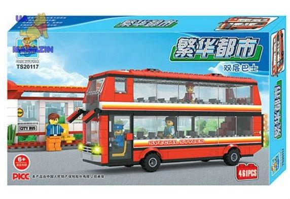 Конструктор Qiaoletong автобусная станция