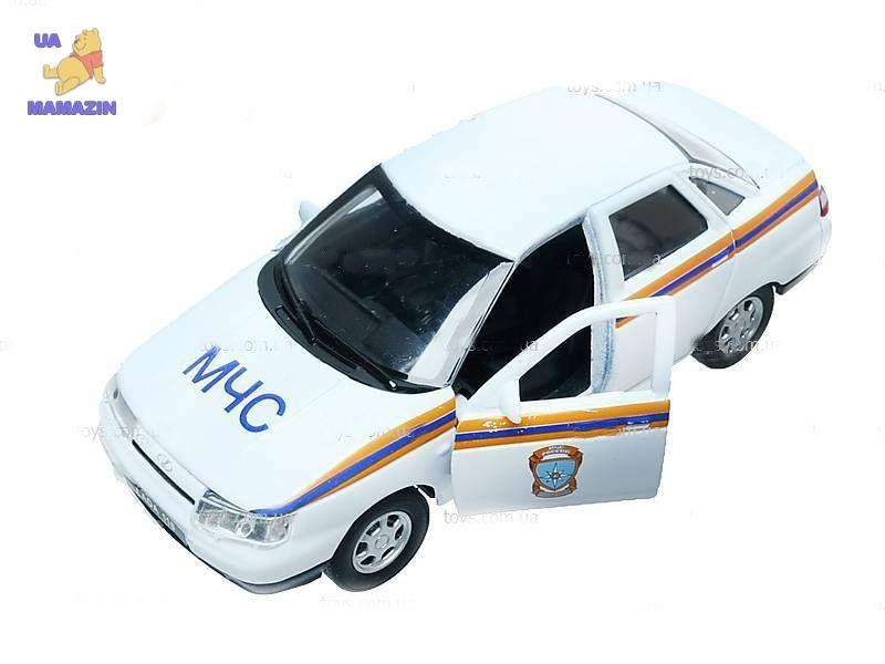 Коллекционная машинка LADA 110 МЧС