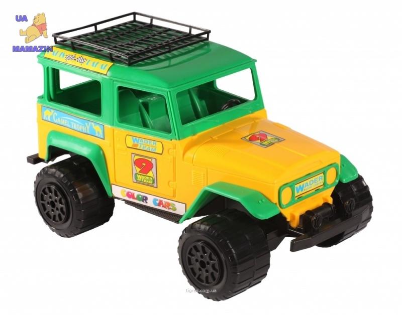 Джип Тойота желтый