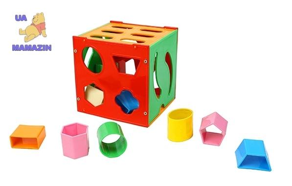 Детская развивающая игрушка Сортер-Шкатулка, ТМ Орион