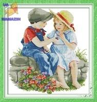 """Вышивка крестом """"Детская дружба"""""""