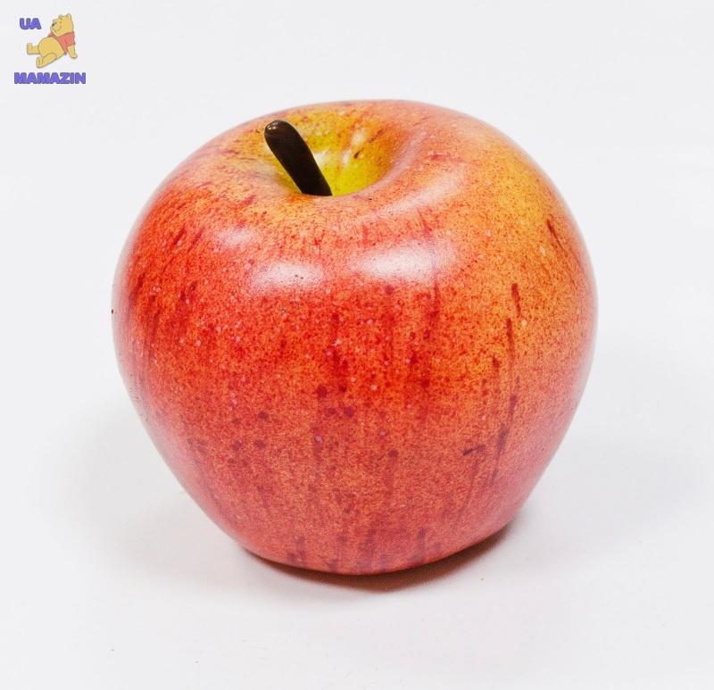 Яблоко красно-оранжевое, 7*7см