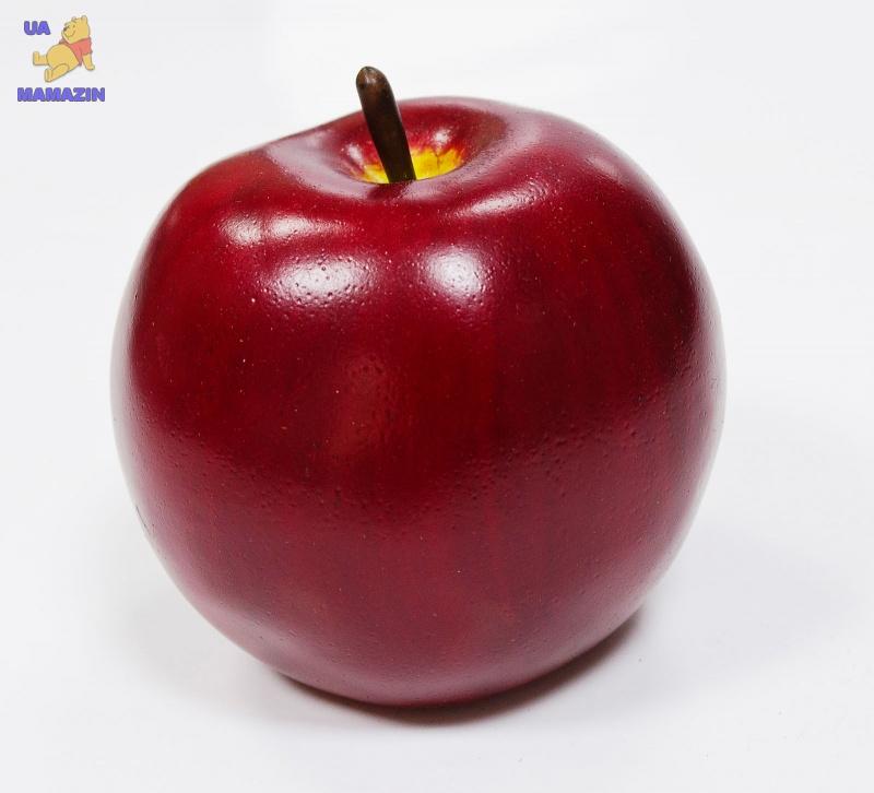 Яблоко бордовое, 8*8см