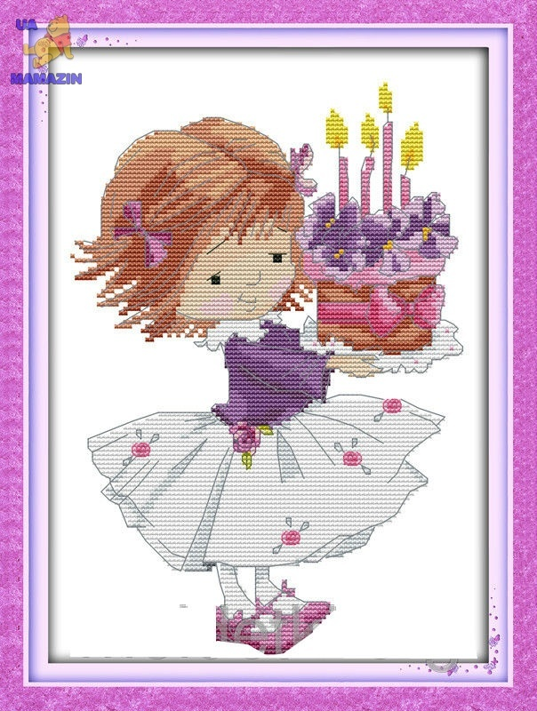 Вышивка День рождения