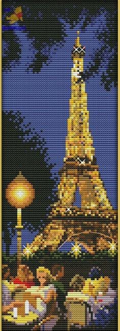Набор для вышивки Ночной Париж