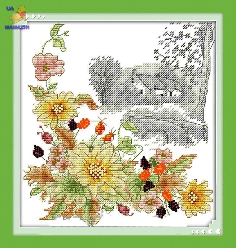 Набор для вышивки крестом Осенний день