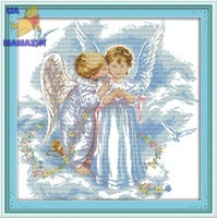 Вышивка крестом Нежные ангелы
