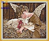 Вышивка крестом Ангелочек