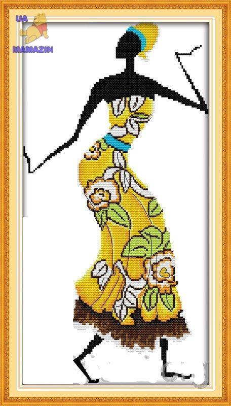 Вышивка крестом Африканские мотивы 1