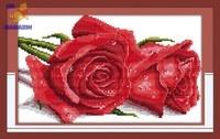 Вышивка крестом Розы