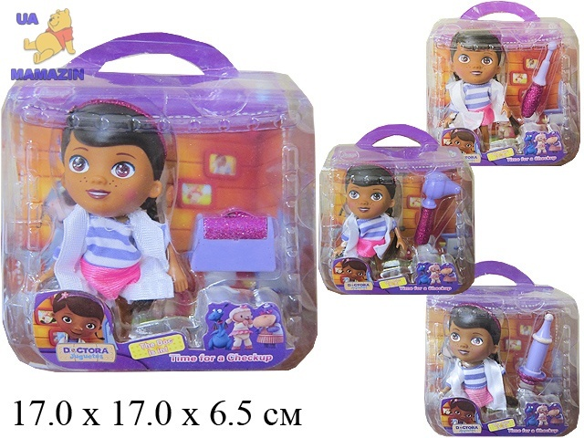 Кукла-доктор с набором мед. инструментов
