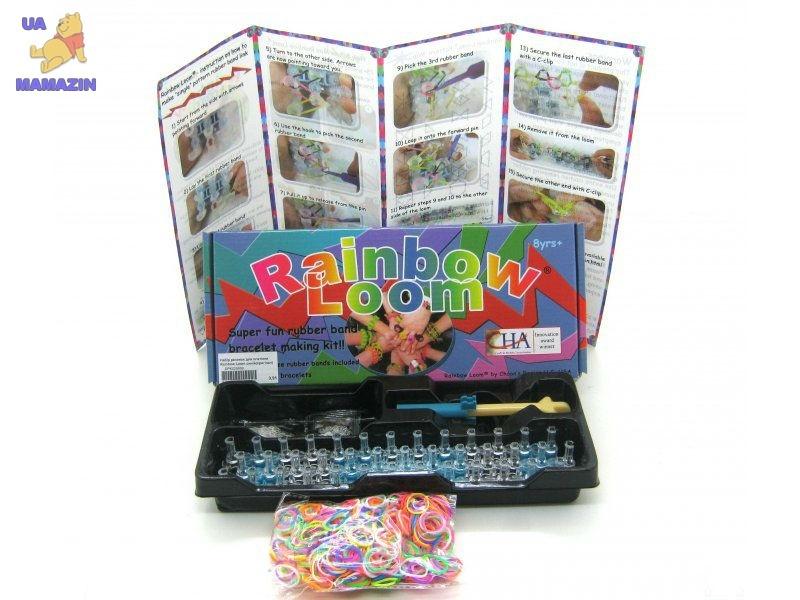 Набор резинок для плетения Rainbow Loom синий (оригинал)