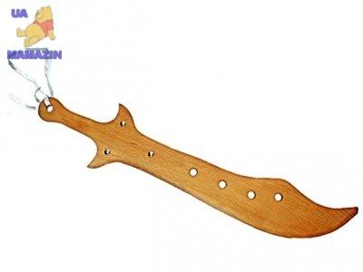 Меч широкий деревянный 65см