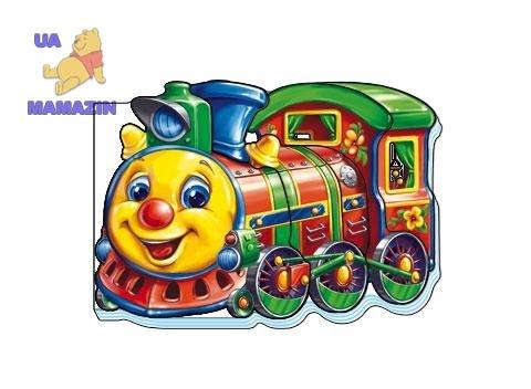 Кумедні машинки (міні) : Потяг (укр)