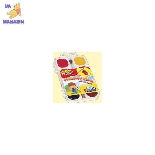 Краски акварель медовые ГАММА Увлечение, 8 цветов