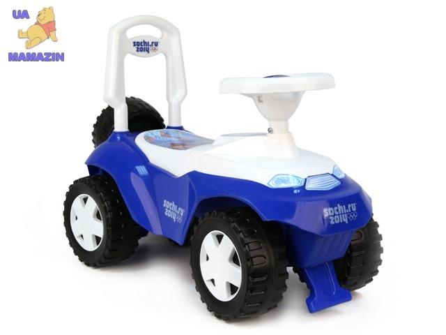 Машинка для катания ОРИОША синяя